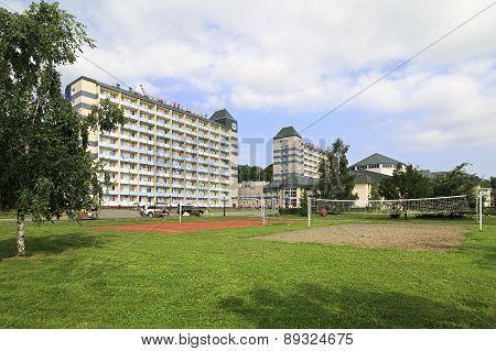 Sanatorium Belokuriha on the same resort.