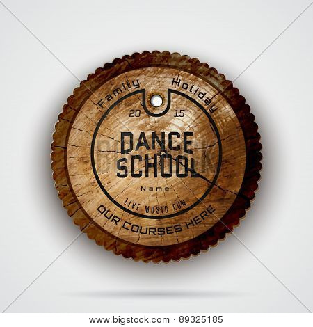 School of Dance badges logos and labels for any use