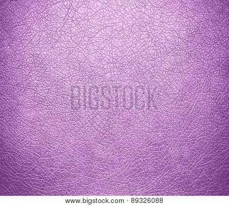 Brilliant lavender color leather texture background