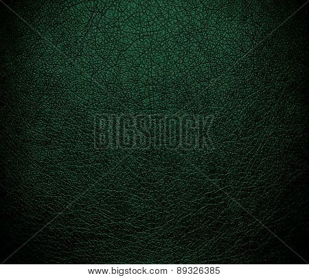 British racing green color leather texture background