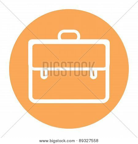 Briefcase Icon, Vector Illustration