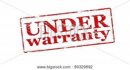 Under Warranty