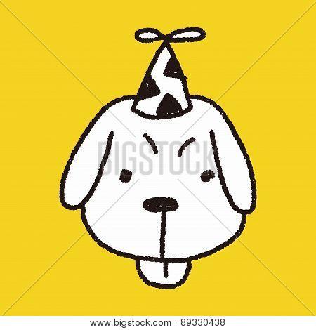 Doodle Birthday Dog