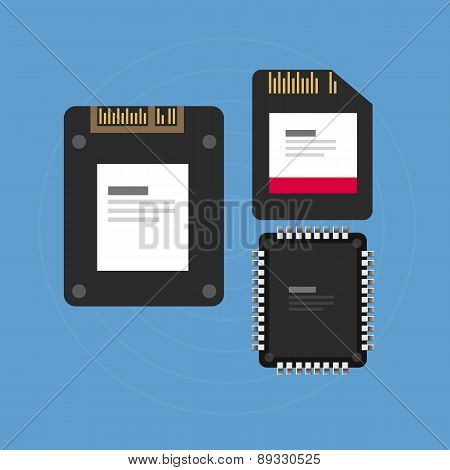 flash storage sd card SSD memory