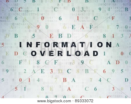 Information concept: Information Overload on Digital