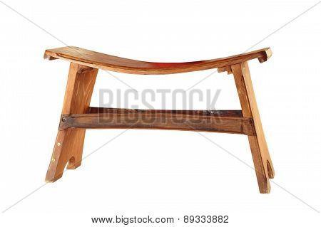 Small Isolated Wood Seat