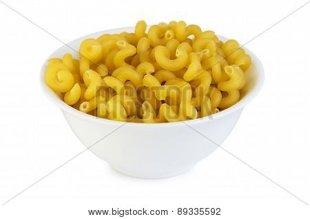 Spiral Pasta In Small Bowl