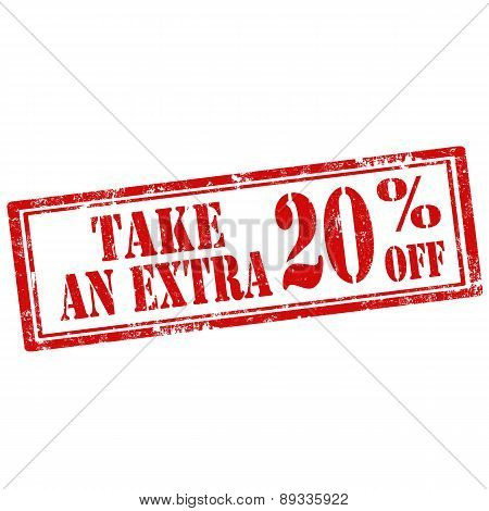 Take An Extra 20% Off-stamp