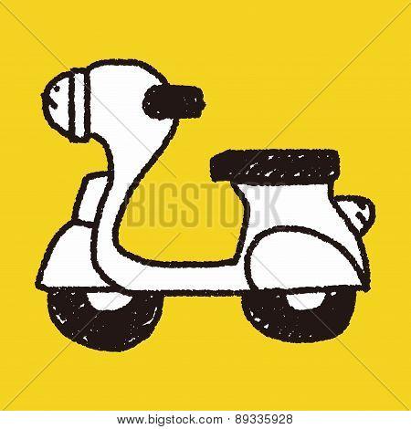 Doodle Motorbike