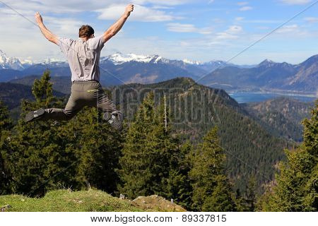 Funny Jumping Man