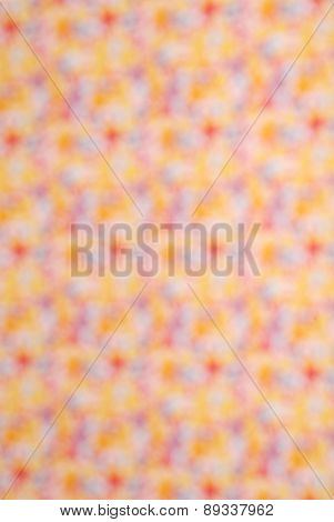 Blurred Abstract Floral Background
