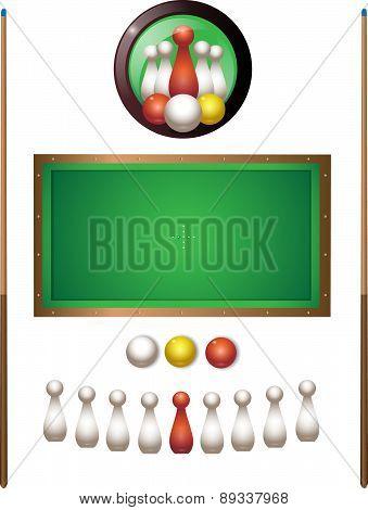 Italian Pool Set