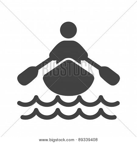 Rowing Person