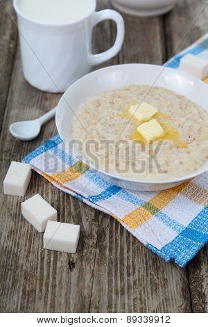 Oatmeal With Butter