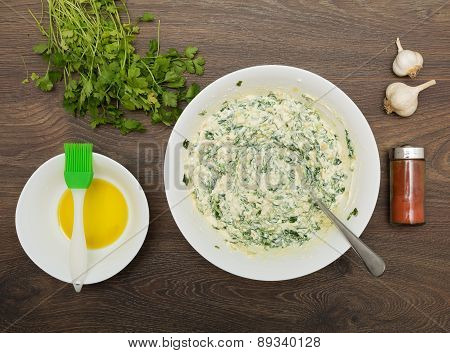 Cooking Greek Spinach And Feta Pie
