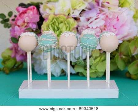 Tasty Candies On A Stick