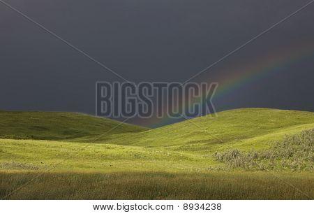 Storm Clouds Prairie Sky Saskatchewan
