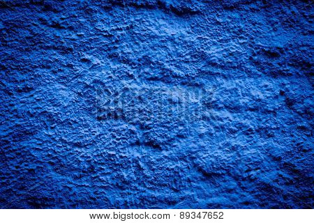 Blue Darken Wall Texture