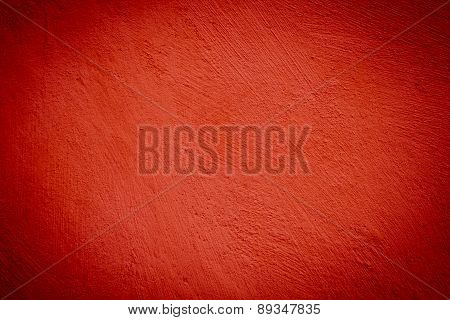 Red Darken Wall Texture