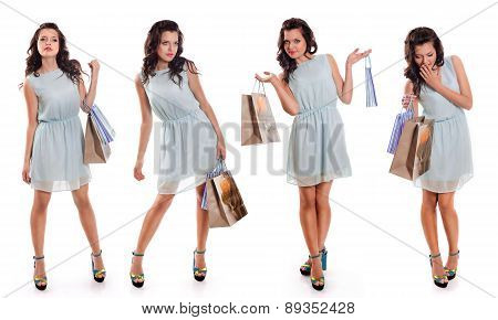 Girls With Shopping Bag