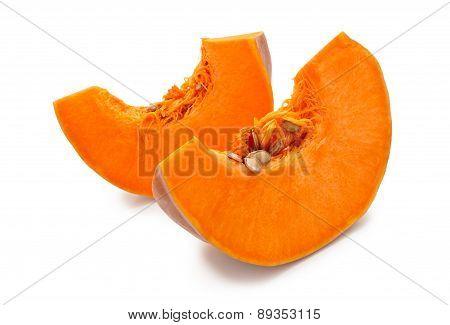 Pieces Of Pumpkin.