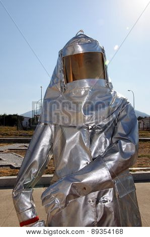 Protective Fire Suit.
