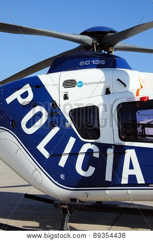 Spanish Police Helicopter.