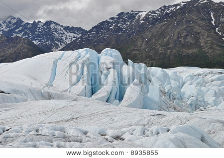 Matanuska Glacier Ice Fall