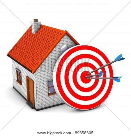 Red Target House