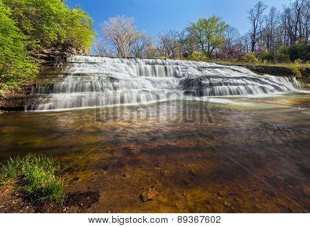 Cascading Thistlewaite Falls