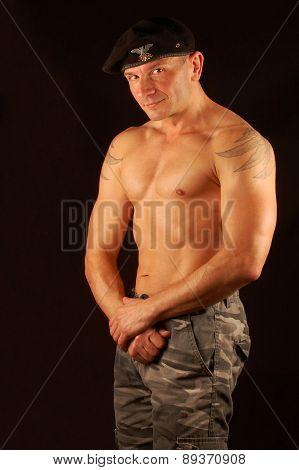 Man With Beret