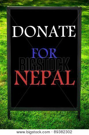 Donate For Nepal