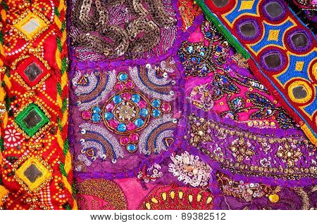 Ethnic Rajasthan Cushion And Belts