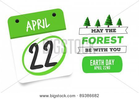 april 22nd against earth day graphic