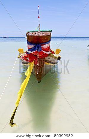 Prow Thailand    Kho Tao China Sea