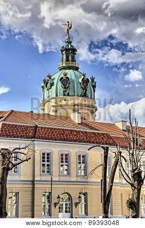 Hder Shot Backside Of The Schloss Charlottenburg Berlin