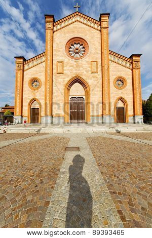 Villa Italy   Church  Varese  The Old Door