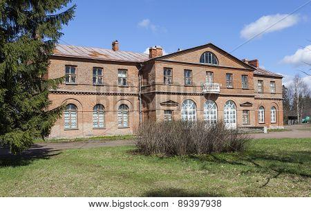 Manor Olenins Priyutino. The manor house. Vsevolozhsk. Leningrad region.