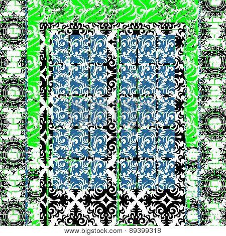 Patterned Creative Frame