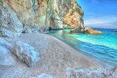 ������, ������: Cala Mariolu Rocks By The Sea