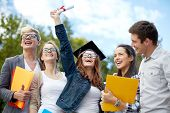 image of graduation  - education - JPG