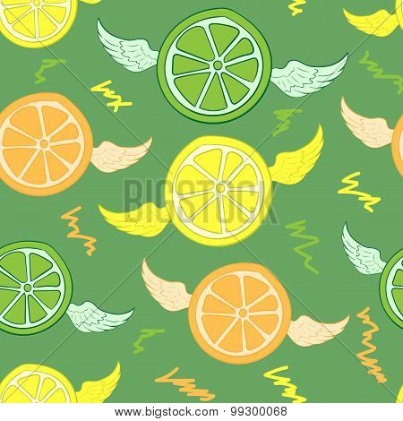 Seamless winged citrus