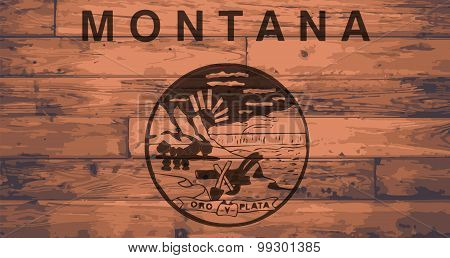 Montana Flag Brand