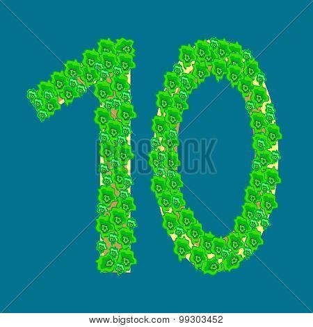 Figure Ten 10 Anniversary Celebration Tropical Island