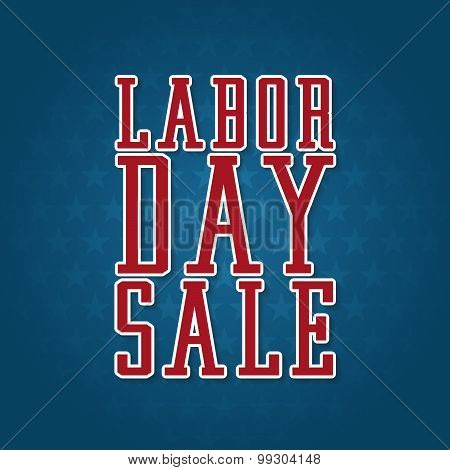 Labor Day Sale Label