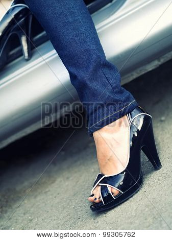 Attractive High Heels