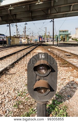 Railway Semaphore Near Haydarpasa