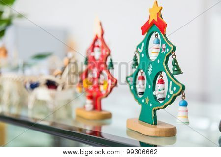 Wooden Christmas dolls