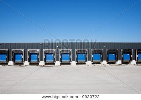 Truck loading docks
