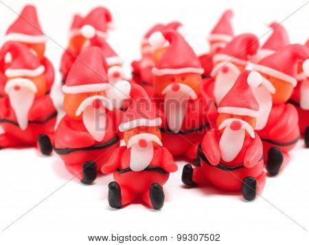 Clay Santas